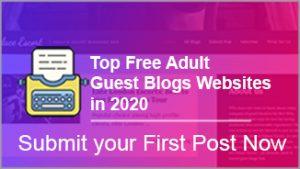 free escort guest blogs websites list